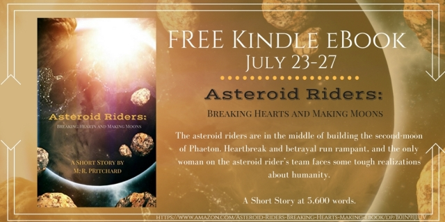 The asteroid riders are in the middle of building the second-moon of Phaeton. Heartbreak and betrayal run rampant, and the only woman on the asteroid rider_s team faces some tough real
